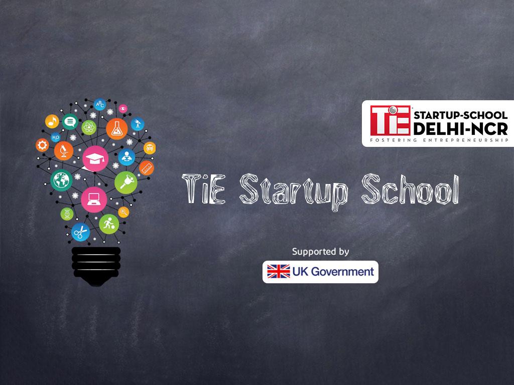 TiE Startup School Banner